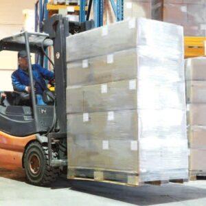 نايلون استرچ و بسته بندي پالت ها در انبارها